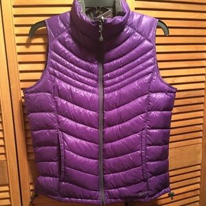 Xersion Purple Packable Down Vest
